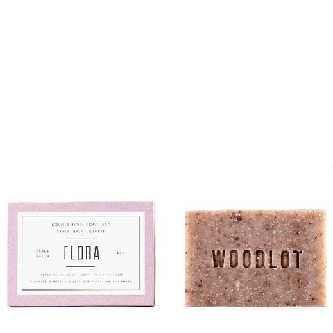 Woodlot Bar Soap in Flora