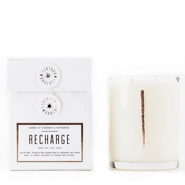 Woodlot 13 oz Coconut Wax Candle in Recharge