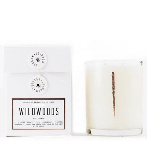 Woodlot 13 oz Coconut Wax Candle in Wildwoods