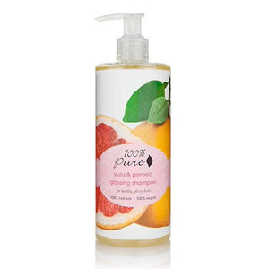 100 Percent Pure Shampoo 13 OZ Yuzu & Pomelo - The Green Kiss