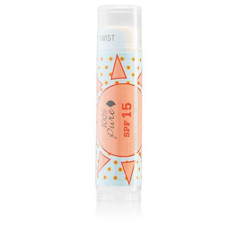 100 Percent Pure SPF 15 Sweet Mint Lip Balm