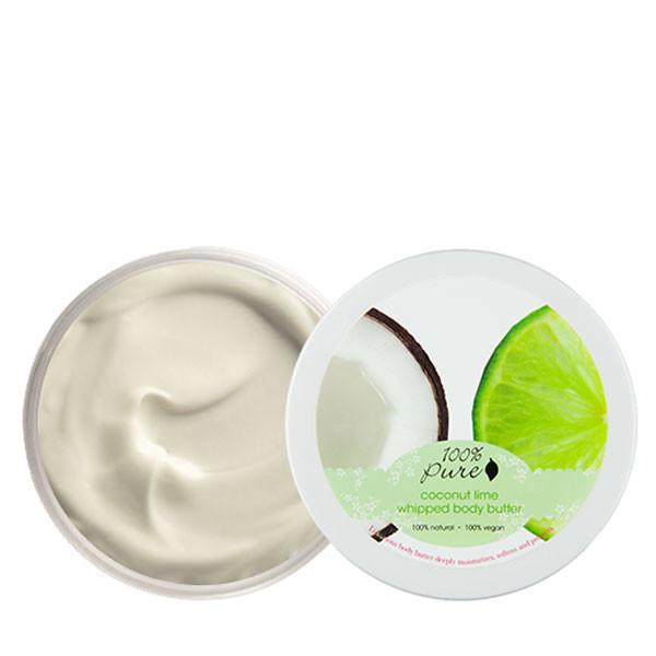100 Percent Pure Coconut Lime Whipped Body Butter - The Green Kiss