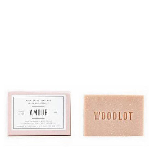 Woodlot Bar Soap in Amour Salt & Clay