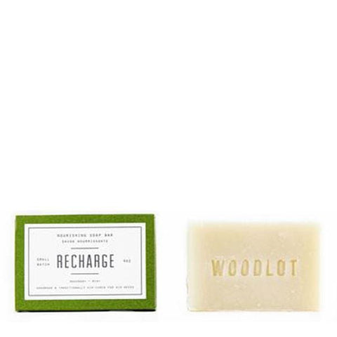 Woodlot Bar Soap in Recharge