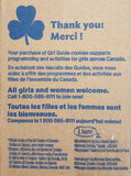 Canadian Girl Guides Cookies 275g - Peanut Free-O Canada