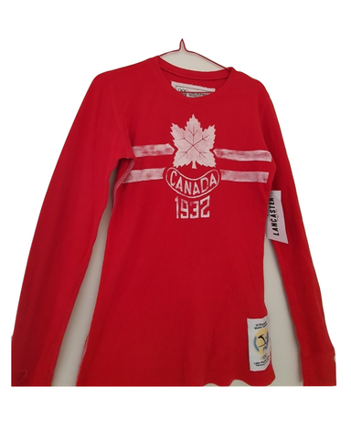 Women's- Maple Leaf- Premium Thermal With Contrast Stitching