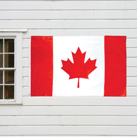 Canadian Flag 2' x 3' (61cm x 91 cm)- with Grommets