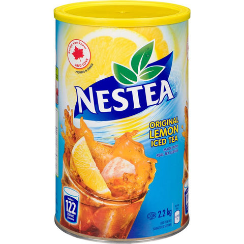 Nestea Iced Tea Powder 2.2kg-O Canada