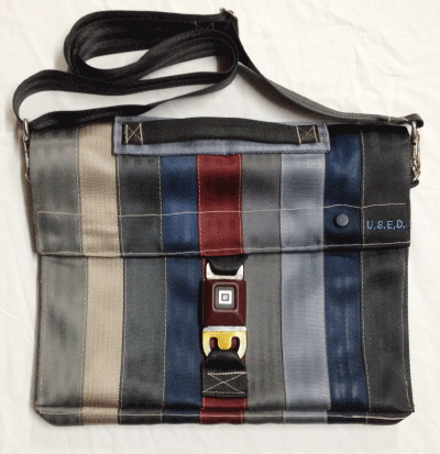 "U.S.E.D. 9 x 1 strap 15"" laptop bag"