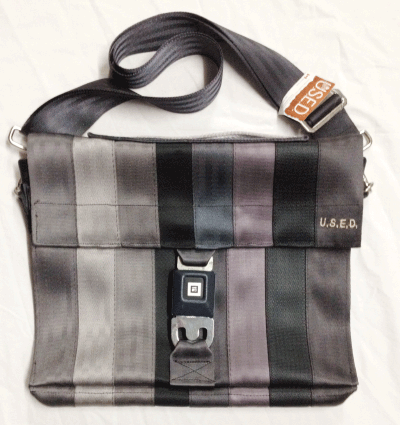 "U.S.E.D. 8 x 1 strap 13"" laptop bag"
