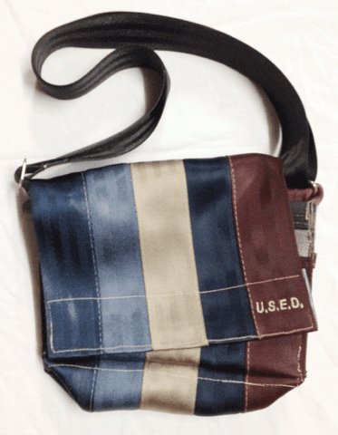 U.S.E.D. 5 strap shoulder bag