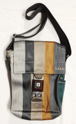 U.S.E.D. 5 strap tall shoulder bag