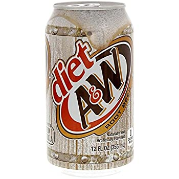A&W - DIET Root Beer AGED VANILLA 355mL