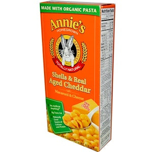 Annies Home Grown - Shells & Real Aged Cheddar Macaroni & Cheese - 170g