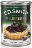 E.D. Smith Blueberry Pie Filling 540mL