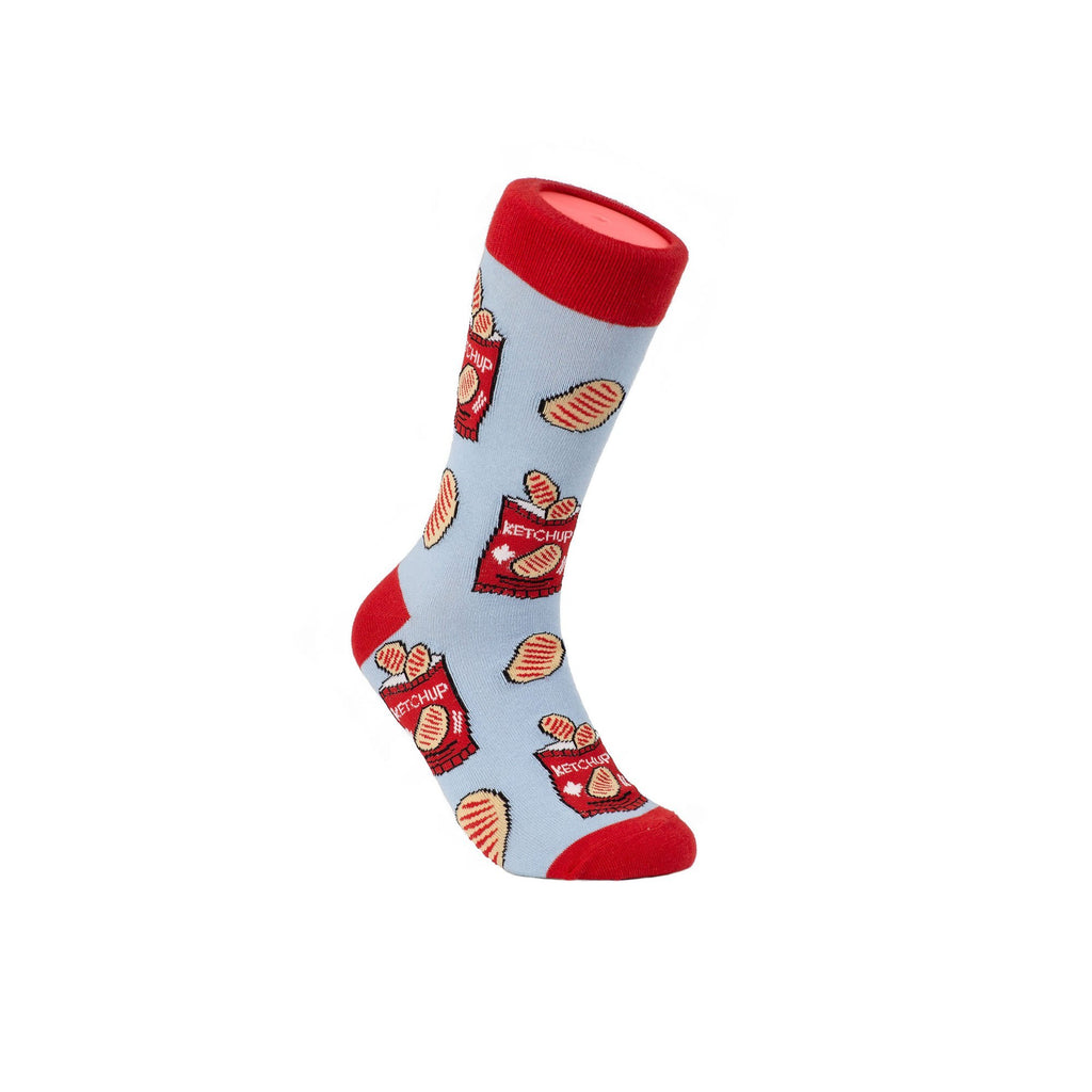 Canadian Ketchup Chips Socks - Unisex