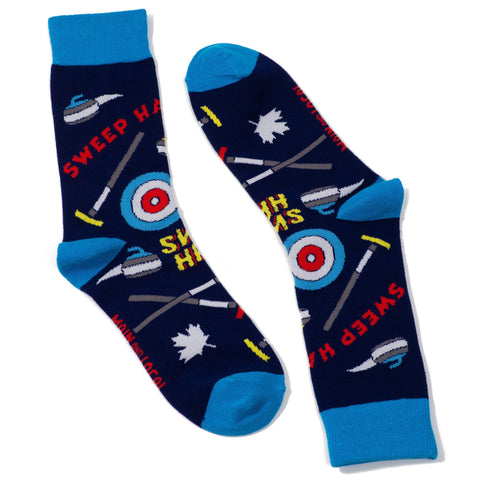 Canadian Curling Socks - Unisex