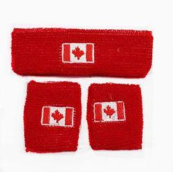 Canada Head and Wrist Band Set-O Canada