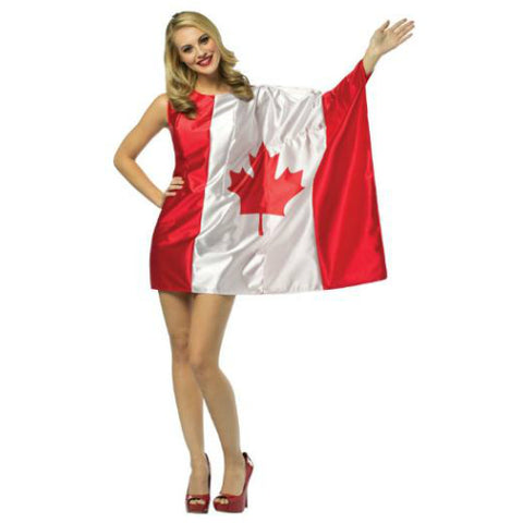 Canada Day Flag Dress - Canadian size 4-10