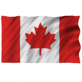 Canadian Flag 3' x 5' (91cm x 152 cm) - Heavy Duty-O Canada