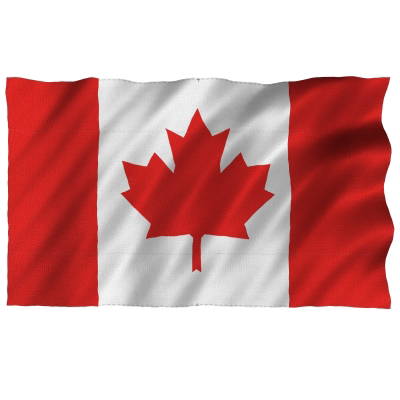 Canadian Flag 4' x 6' (123cm x 183cm) Heavy Duty-O Canada