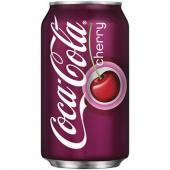 Cherry Coke 355mL Best Before 23 july 2018-O Canada