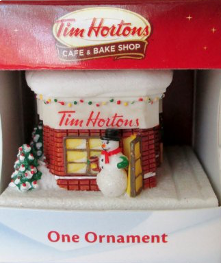 Christmas Ornament - Tim Hortons Collectible Shop-O Canada