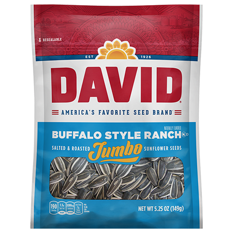 David Sunflower Seeds - Buffalo Ranch-150g