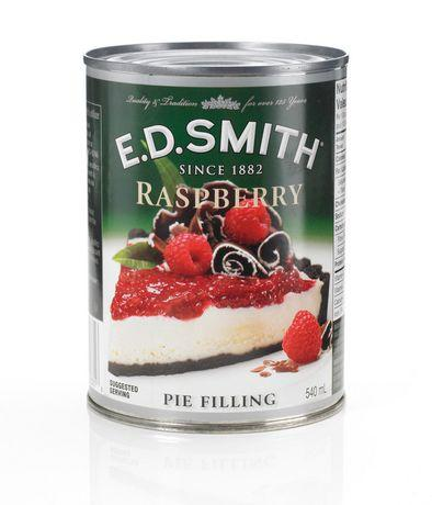 E.D. Smith Raspberry Pie Filling 540mL- Best Before 27 Feb 2019-O Canada