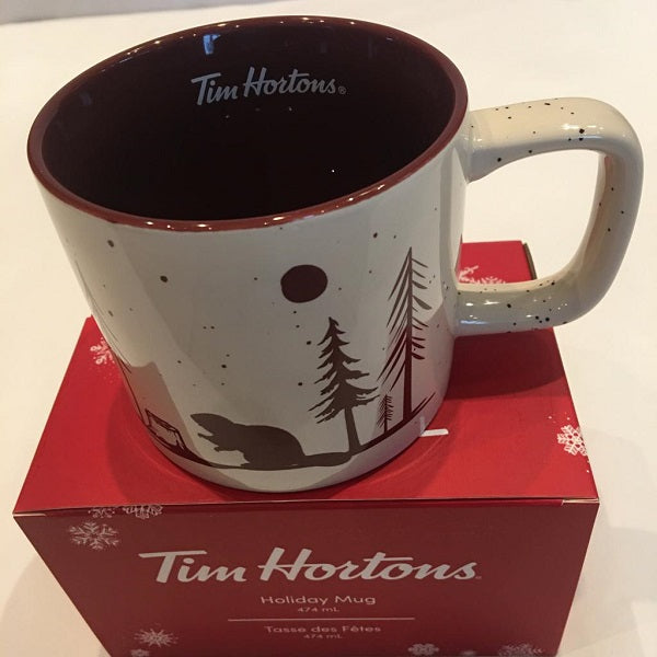 "Collectors Item - ""Christmas special"" Tim Hortons Ceramic Coffee Mug"