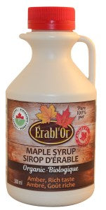 Erabl'or 100% Pure Maple Syrup -Amber - 250ml-O Canada