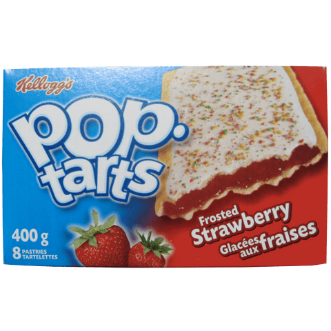 "Kellogg's Pop-Tarts ""Twins"" Strawberry (Two Toaster Pastries)-O Canada"