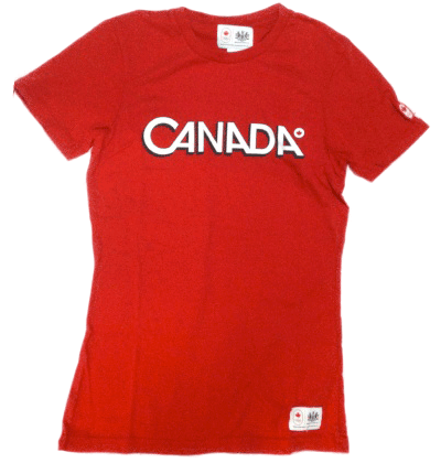Men's Cotton Logo T-shirt-O Canada
