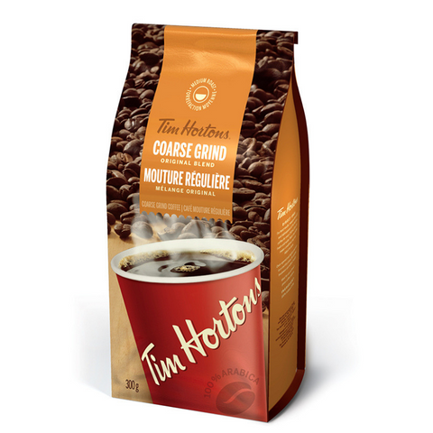 Tim Hortons Coarse Ground 300g-O Canada