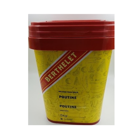 Berthelet (St-Hubert) Poutine Sauce Mix (powder) 5kg