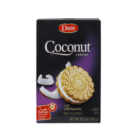 Dare Ultimate Coconut Creme Cookies 290g