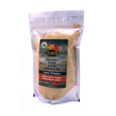 Maple Sugar Fine - Organic 250g-O Canada