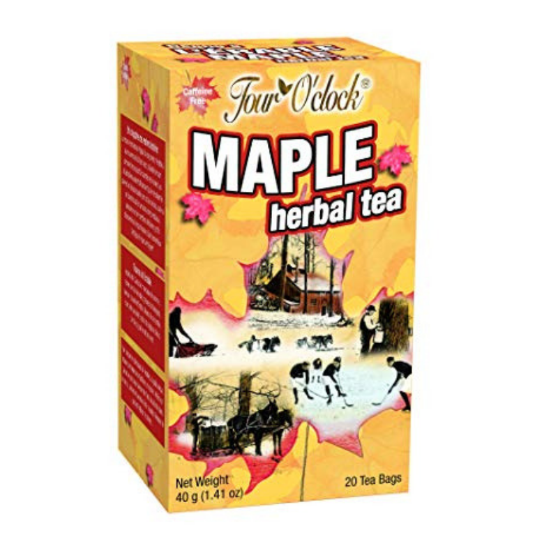 Erabl'or Maple Herbal Tea 20 Bags-O Canada