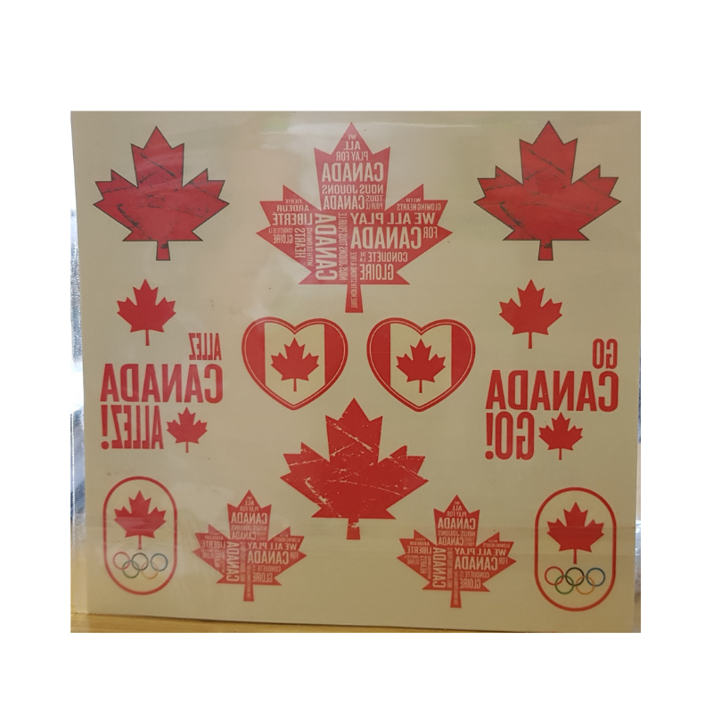 Canadian Olympic Team Tattoos-28 Tattoos-O Canada