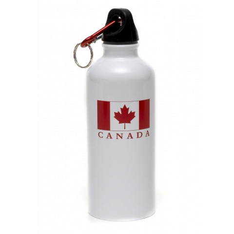 Stainless Steel Water White bottle - Flag 500ml-O Canada