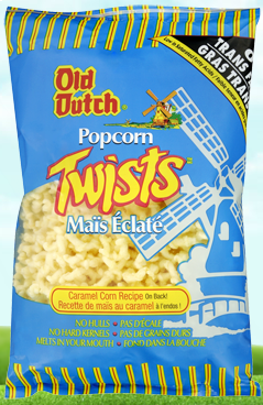 Old Dutch Popcorn Twists 175g-O Canada