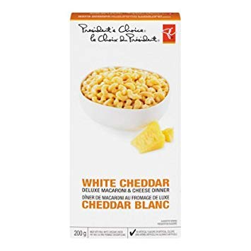 PC White Cheddar Macaroni & Cheese - 200g-O Canada