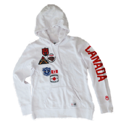 Pullover Patch Hoodie-O Canada