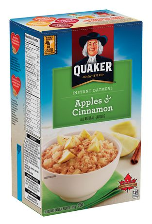 Quaker Instant Oatmeal Apples & Cinnamon