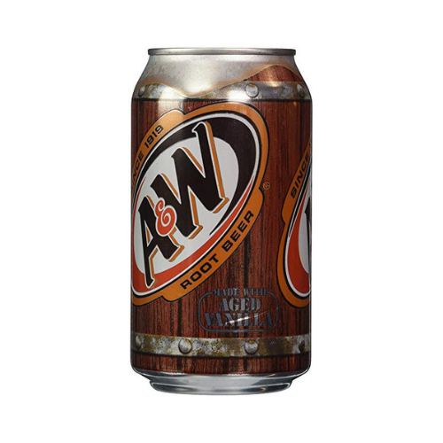 A&W Root Beer AGED VANILLA 355mL-O Canada