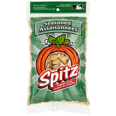 Spitz Pumpkin Seeds Seasoned 170g-O Canada