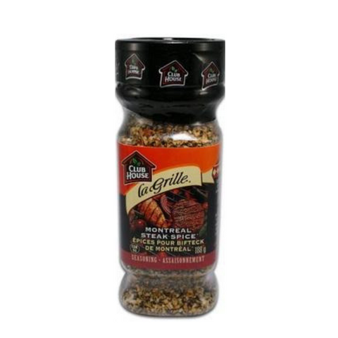 Club House Montreal Steak Spice 188g-O Canada