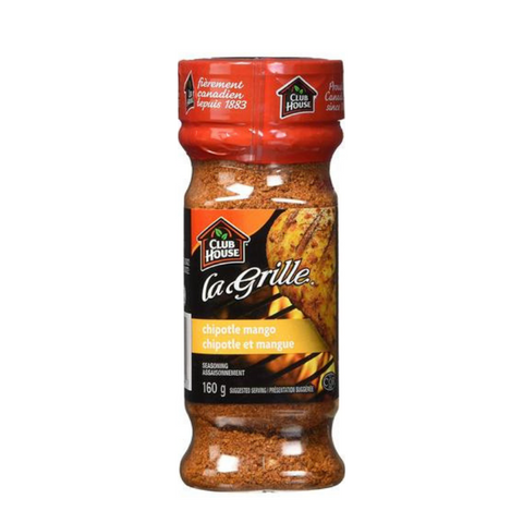 Club House LaGrille Chipotle Mango Seasoning 160g-O Canada