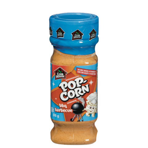 Club House Popcorn Seasoning BBQ 145g-O Canada