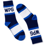 Winnipeg City Stripes Socks-Unisex
